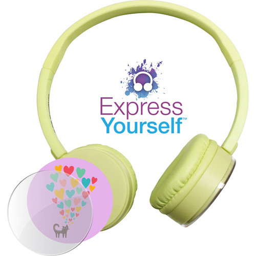 HamiltonBuhl Express Yourself Headphone for Children (Yellow)