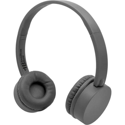 HamiltonBuhl KidzPhonz Headphone with In-Line Microphone (Gray)