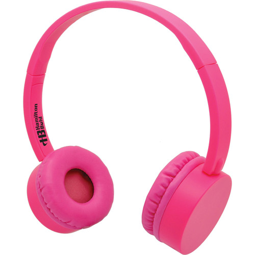 HamiltonBuhl KidzPhonz Headphone with In-Line Microphone (Pink)
