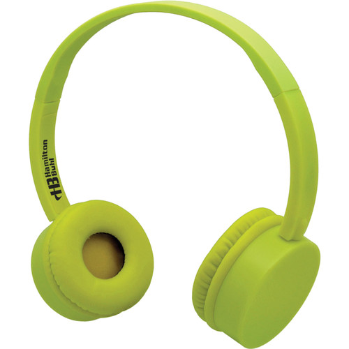 HamiltonBuhl KidzPhonz Headphone with In-Line Microphone (Yellow)