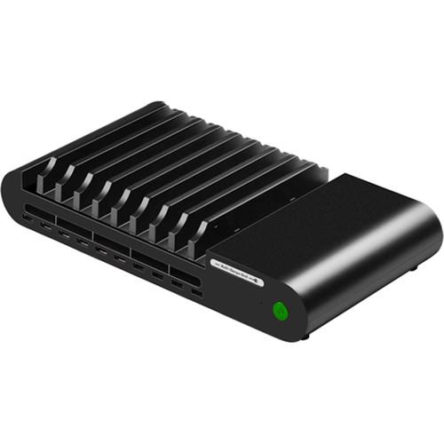 HamiltonBuhl 10-Port USB Charging Station