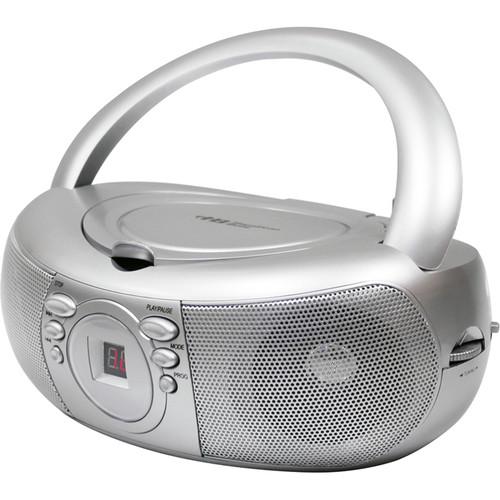 HamiltonBuhl MPC-3030 Top Load CD Boom Box with AM/FM Radio Tuner