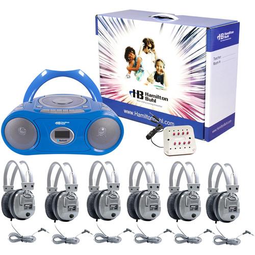 HamiltonBuhl 6-Person Cassette/CD/AM/FM Listening Center