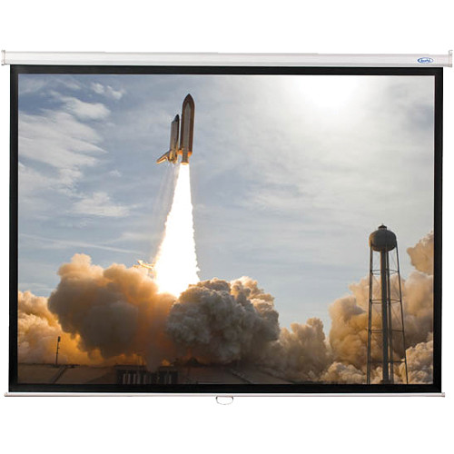 """HamiltonBuhl WS-W4580 45 x 80"""" Manual Projector Screen with Matte White Surface"""