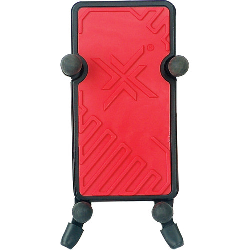 Hamilton Stands Phone Holder and Tube Clamp (Red)