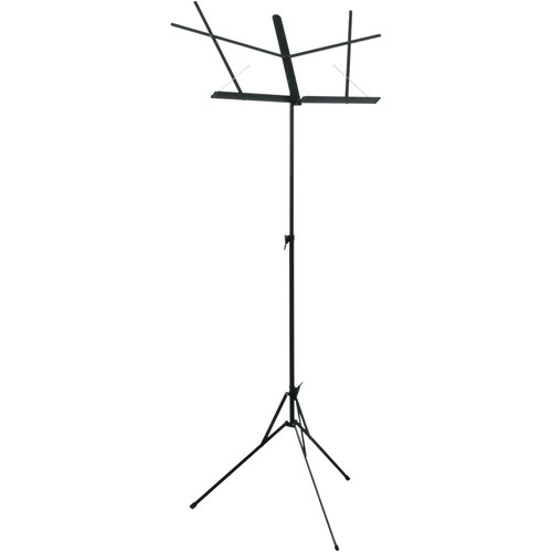 Hamilton Stands KB400 Classic American Folding Sheet Music Stand (Black)