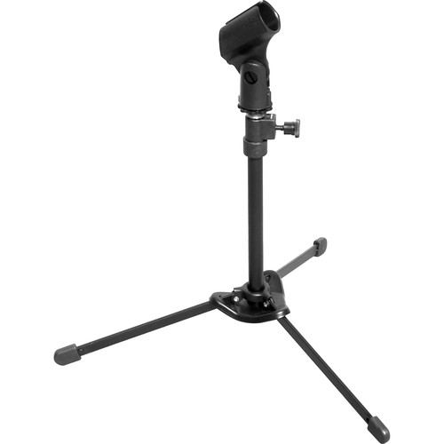 Hamilton Stands KB810M Nu-Era Tabletop Mic Stand with Bag and Mic Clip