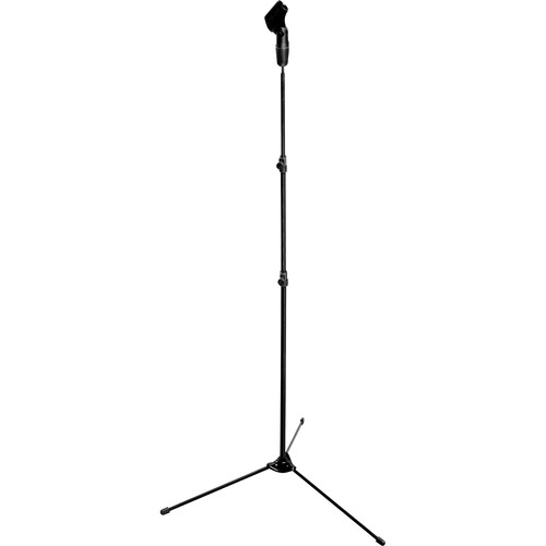 Hamilton Stands KB820 Nu-Era Lightweight Microphone Stand with Mic Clip and Carry Bag