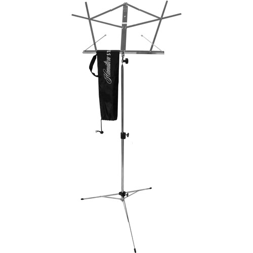 Hamilton Stands KB900 Deluxe Folding Sheet Music Stand (Chrome)