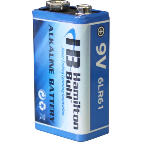 HamiltonBuhl 9V Alkaline Battery