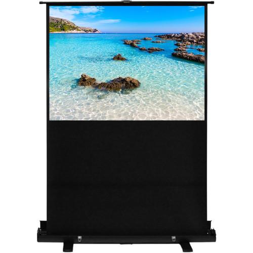 "HamiltonBuhl AC-8749 49 x 87"" Portable Floor-Rising Screen"