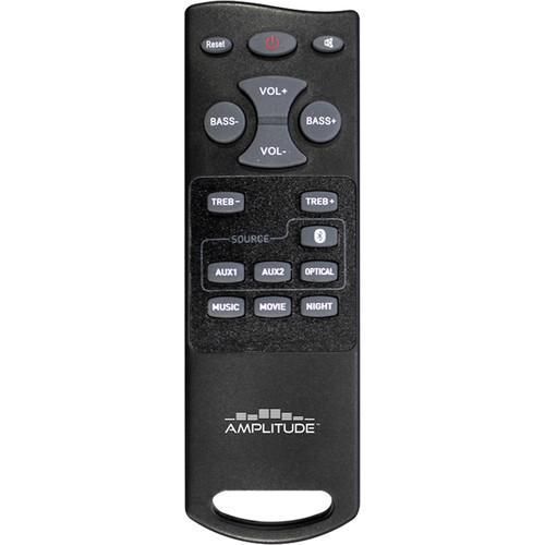 """HamiltonBuhl Replacement Remote Control for AMP37 Amplitude 37"""" Bluetooth HD Sound Bar"""