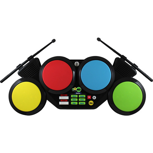 HamiltonBuhl Do-Re-Me! Portable Digital Drum Set with Four Pads