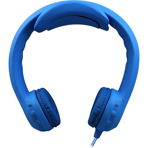 HamiltonBuhl Flex-PhonesXL On-Ear Headphones for Teens (Blue)