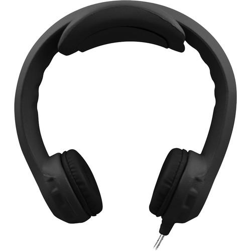 HamiltonBuhl Flex-PhonesXL On-Ear Headphones for Teens (Black)