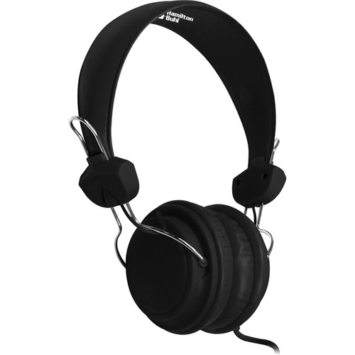 HamiltonBuhl TRRS Headset with In-Line Microphone (Black)
