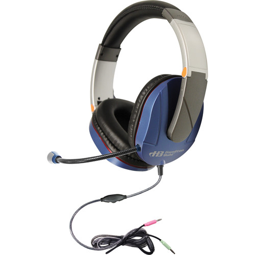 HamiltonBuhl Soundscape Multimedia Headset with Gooseneck Microphone