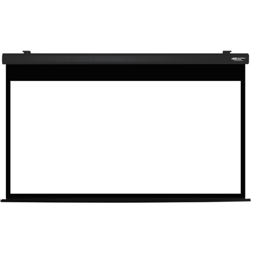 """HamiltonBuhl HBS4987BK 49 x 87"""" Electric Projection Screen"""