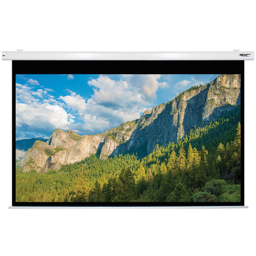 "HamiltonBuhl 120"" Electric Projector Screen PC format Matte White"