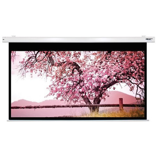"HamiltonBuhl HBS74131 74 x 131"" Electric Projection Screen"
