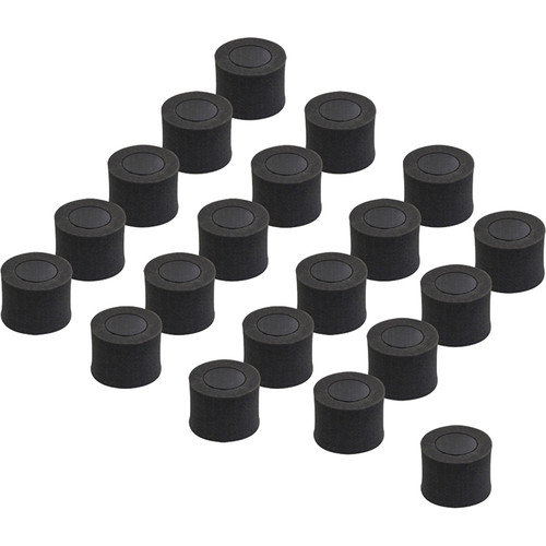 HamiltonBuhl Replacement Foam Cuffs for NoiseOff Hearing Protector (20-Pack)
