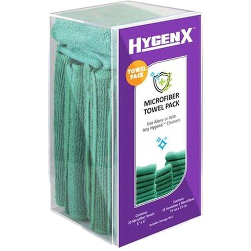 HamiltonBuhl HygenX Microfiber Towels (20-Pack)