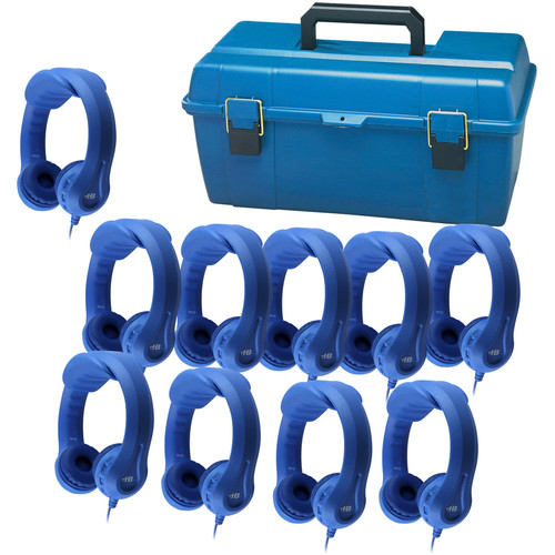 HamiltonBuhl Blue Flex-Phones  (10-Pack/Blue)