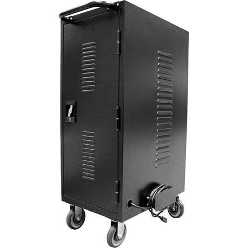 HamiltonBuhl LTAB-30A 30-Bay Tablet and iPad Charging / Storage Cart