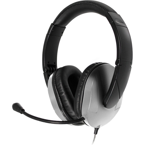 HamiltonBuhl Deluxe Multimedia USB Headset with Gooseneck Microphone