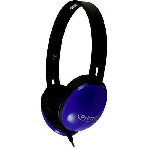 HamiltonBuhl Primo Stereo Headphones (Blue)