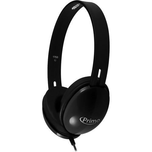 HamiltonBuhl Primo Stereo Headphones (Black)