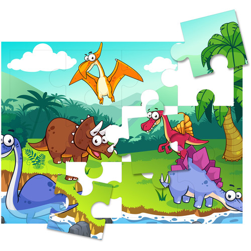 HamiltonBuhl Print-A-Puzzle (Pack of 25  - 12 Pieces Per Sheet)