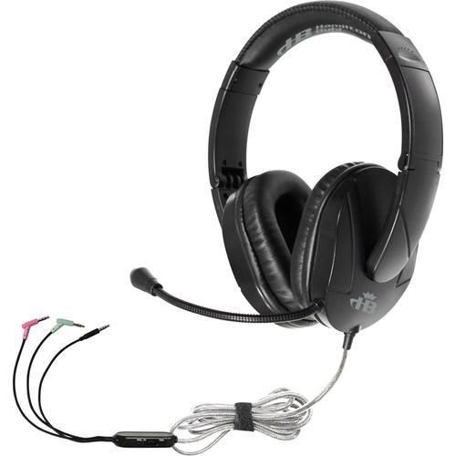 HamiltonBuhl Trios Multimedia Headset with Gooseneck Microphone
