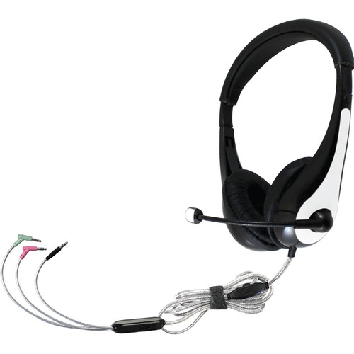 HamiltonBuhl TriosAir Personal Multimedia Headset with Gooseneck Microphone