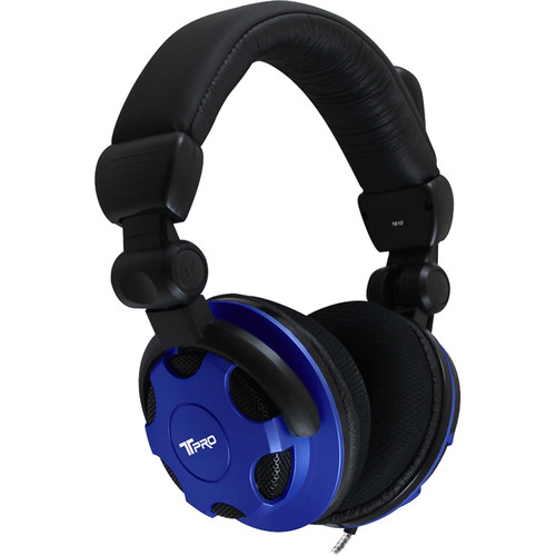 """HamiltonBuhl T-PRO TRRS Stereo Over-Ear Headset with Noise-Canceling Microphone (1/8"""" TRRS Connector)"""