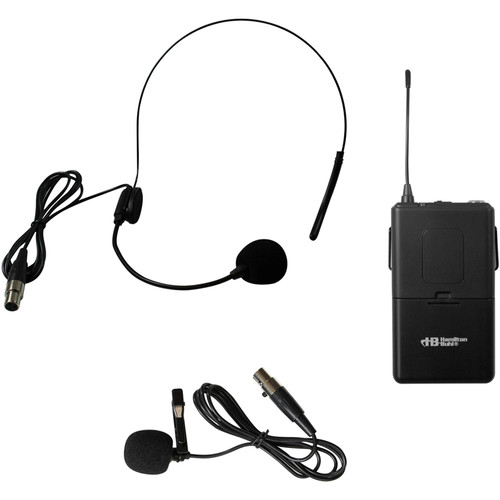HamiltonBuhl Belt Pack with Lapel Mic and Headset for Venu100A & Venu100W