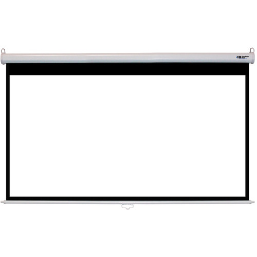 "HamiltonBuhl WS-W4987 49 x 87"" Manual Projection Screen"