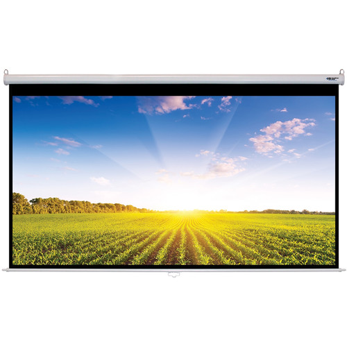 "HamiltonBuhl WS-W66118 66 x 118"" Manual Projection Screen"