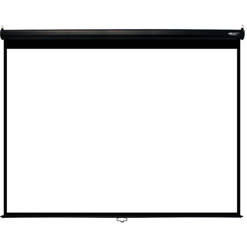 "HamiltonBuhl WS-W7296-BLK 72 x 96"" Manual Projection Screen"