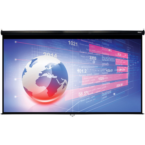 "HamiltonBuhl WS-W74131 74 x 131"" Manual Projection Screen"