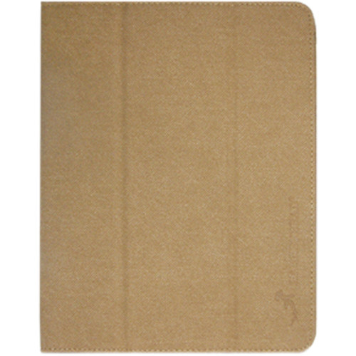Hammerhead Folio Case for 2nd, 3rd, 4th Gen iPad (Suede Brown)