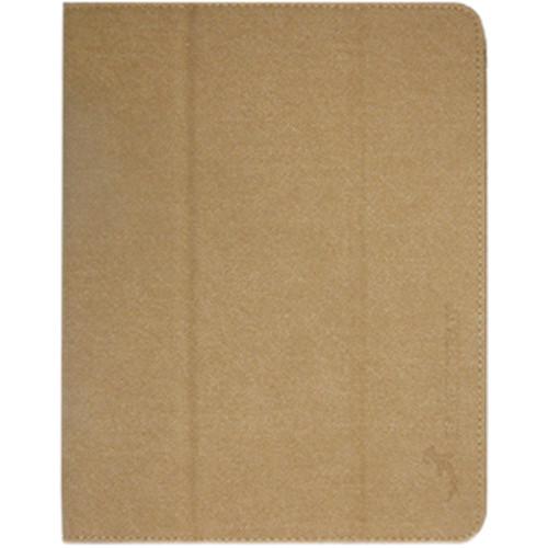 Hammerhead Folio Case for 2nd, 3rd, 4th Gen iPad (Suede Brown)