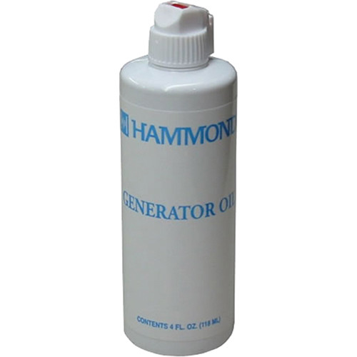 Hammond Generator Oil - 4 OZ Bottle