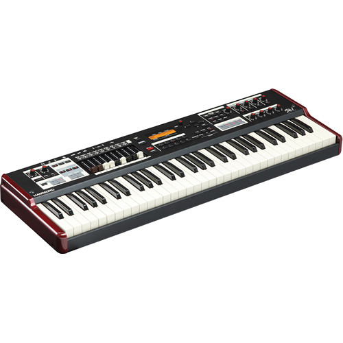 Hammond Sk1 - Portable Hammond Organ and Stage Keyboard (Burgundy/Black)