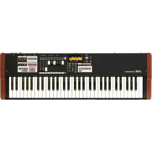 Hammond XK-1c - Portable Hammond Organ (Walnut/Black)