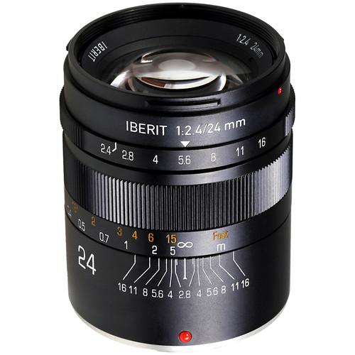Handevision IBERIT 24mm f/2.4 Lens for Fujifilm X (Black)