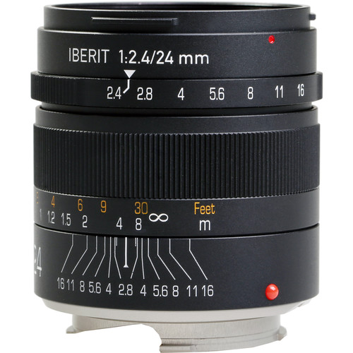 Handevision IBERIT 24mm f/2.4 Lens for Leica M (Black)