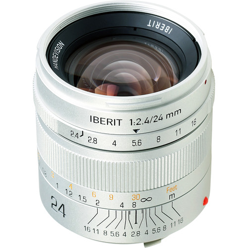 Handevision IBERIT 24mm f/2.4 Lens for Leica M (Silver)