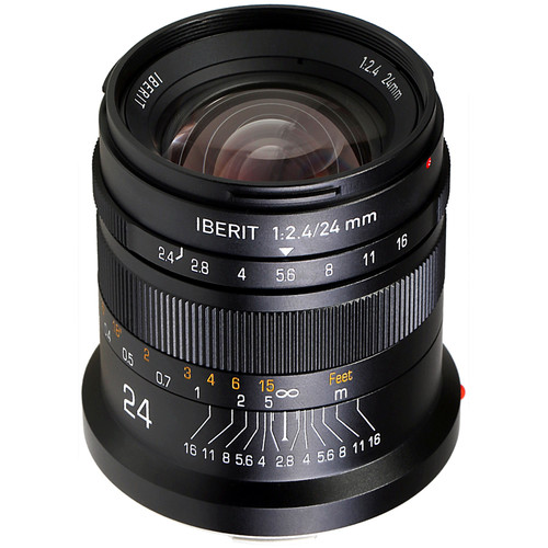 Handevision IBERIT 24mm f/2.4 Lens for Leica L (Black)