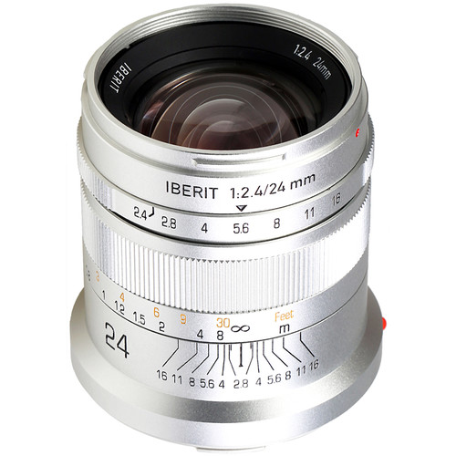 Handevision IBERIT 24mm f/2.4 Lens for Leica L (Silver)